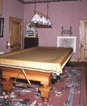 1875 Antique pool table