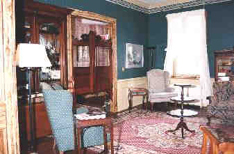 Saloon Parlor with 1860 saloon doors